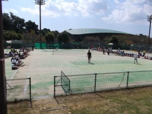 ソフトテニス模範試合