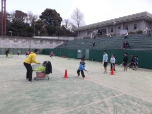 山本育史プロ テニスクリニック④