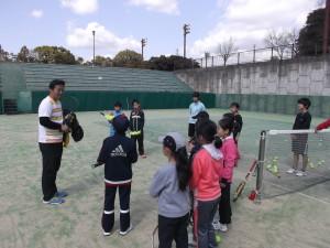 山本育史プロ テニスクリニック③